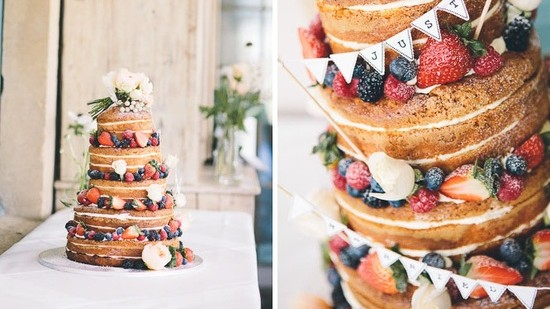 Wedding Cake Without Icing : Feed Your Imagination
